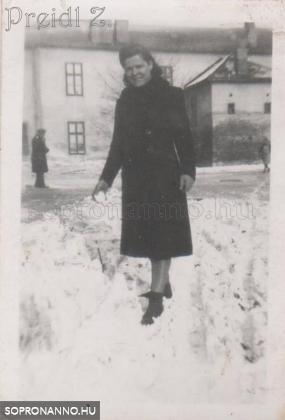 Kuruc-dombi tél az 1930-as években