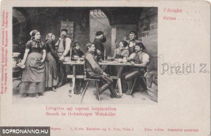Látogatás egy soproni borospinczében