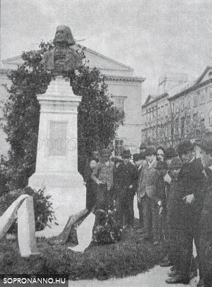 Liszt Ferenc szobrának avatása
