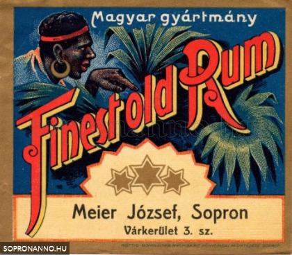 Finest old Rum