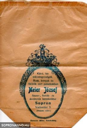 Meier József, Sopron