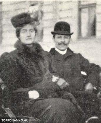 Nyári Rudi és felesége