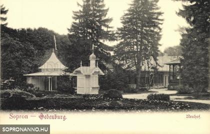 Az Erzsébet-kert 1904-ben