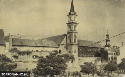 Bástya tér - 1958