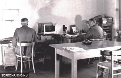 Az igazgatói iroda