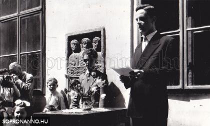 Ballagási ünnepély 1958-ban