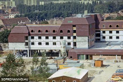 Pillanatképek a Hotel Sopron építéséről