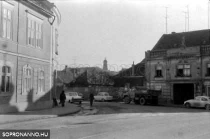 Pócsi utcai részlet 1974-ből