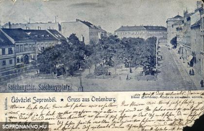 Az egykori Promenád