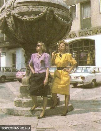 Az Orsolya Divatház reklámja