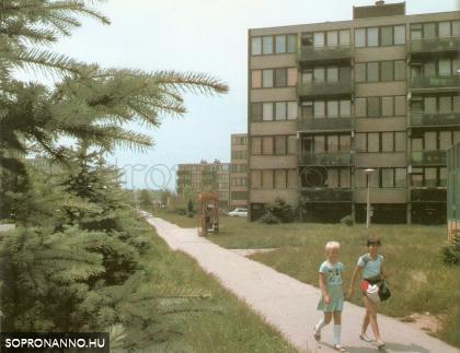 Jereván lakótelepi részlet