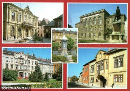 Sopron a '80-as években