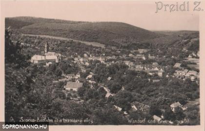"""""""Sopron-Bánfalva és a brennbergi völgy"""""""