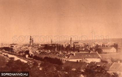 Sopron 1880 körül