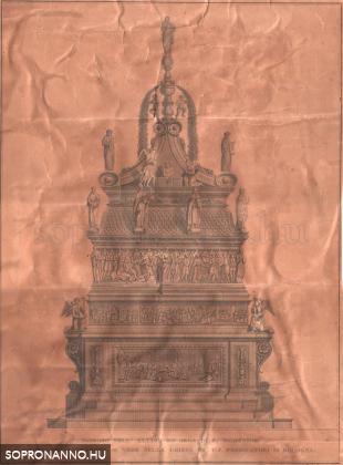 A kép hátlapja