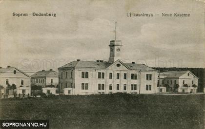 Sopron új kaszárnyája, a Károly-laktanya