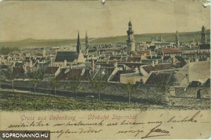 Soproni látkép