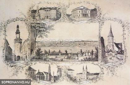 Soproni mozaikok az 1800-as évek közepéről