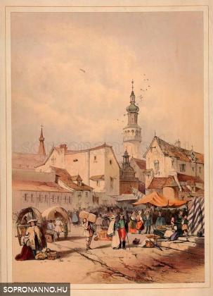 Soproni piac
