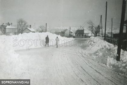 Soproni tél 1942-ben
