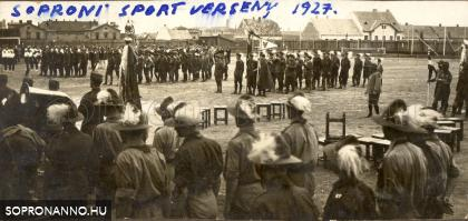 Sportverseny 1927-ben