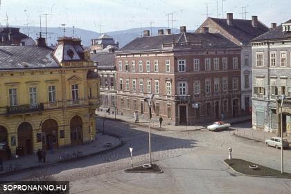 Széchenyi téri életkép az 1960-as évekből