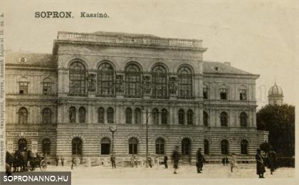 Széchenyi téri részlet a Kaszinóval
