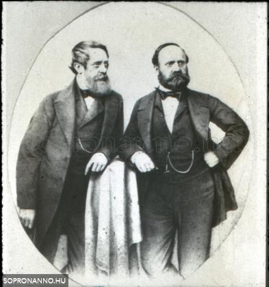 Kossuth Lajos és Ihász Dániel