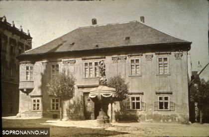 Az egykori Lunkányi-ház