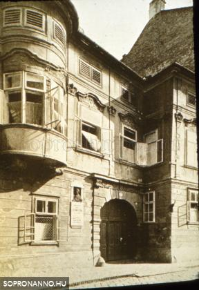 Az egykori Gyóni-ház