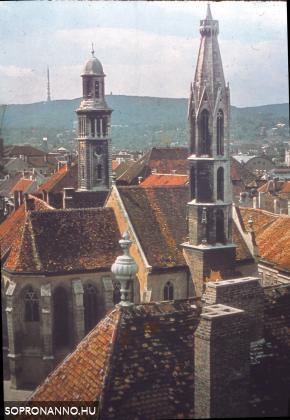Soproni tornyok