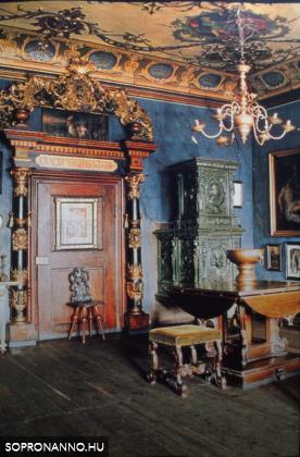 A Storno-ház belső terének részlete