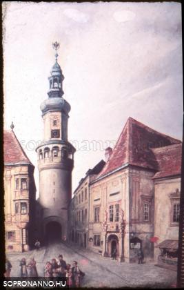 A Tűztorony és a régi városháza