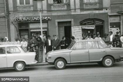 Szüreti felvonulás 1975.