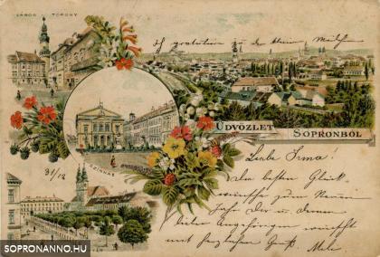 Tavaszi üdvözlet Sopronból
