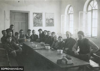 Téli tábor Brennbergben 1933-ban