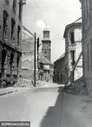 Templom utca - 1946