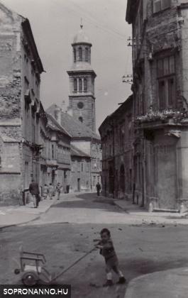 Templom utca 1946 vagy 1947