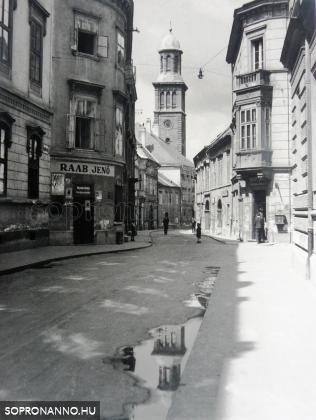 Templom utca - 1943