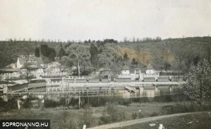 A Tómalom az 1940-es években