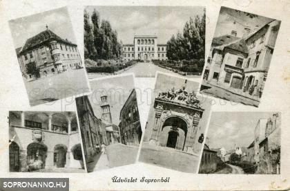 Mozaiklap Sopronból
