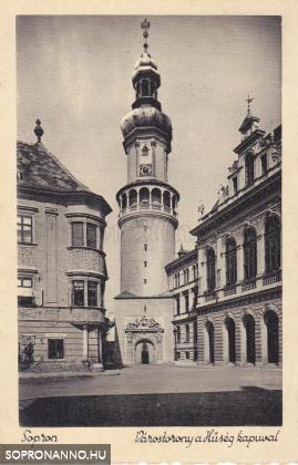 Változatok egy képeslapra - A Tűztorony