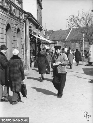 Várkerületi pillanatkép egy ismert soproni sofőrrel