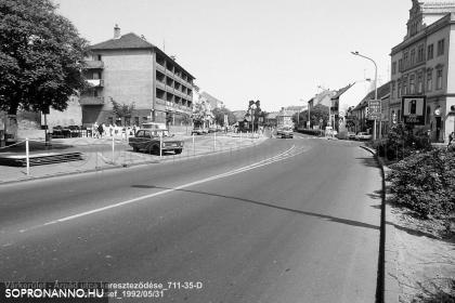 Várkerületi séta 1992-ben