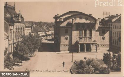"""""""Városi színház és Nemzeti Bank"""""""