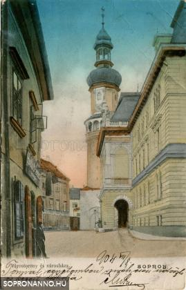 Várostorony és városháza