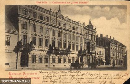 Hotel Pannonia - anno