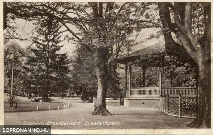 Az Erzsébet-kerti zenepavilon
