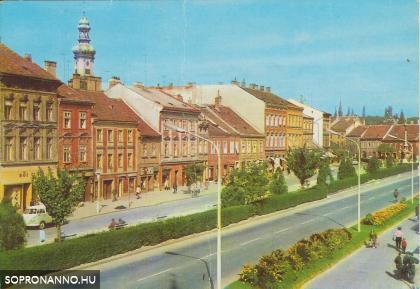 A Lenin körút 1973-ban