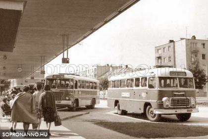 A buszpályaudvar